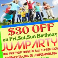 weekend birthday discount