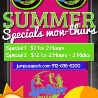summer mon-thurs special