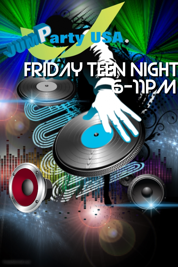 Are Friday night teen party congratulate, the