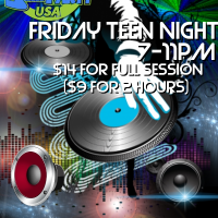 friday teen night DJ